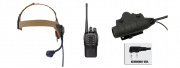 Baofeng BF-888S Radio, ZSELEX TASC1 Headset, & Z115KEN PTT Set (Black/Flat Dark Earth)