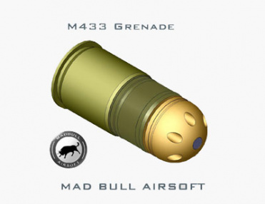 Mad Bull M433 HEDP BB Grenade Shell