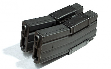 Airsoft Elite 300rd M4 / M16 High Capacity AEG Magazine ( 2 Mags + 1 Clamp Package )