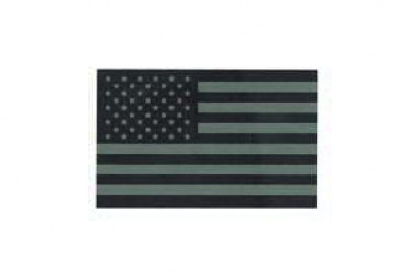 King Arms Reflective US Flag with Velcro ( OD )