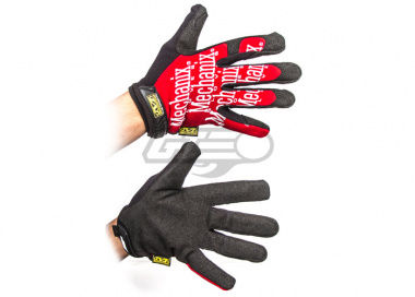 Mechanix Wear Original Gloves ( Red / Medium )