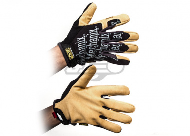Mechanix Wear Material 4X Original Gloves ( Black & Tan / Large )