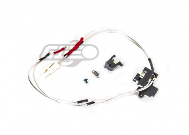 Modify Low Resistance AEG Switch & Wire Assembly for M4 / M16 ( Rear / Tamiya Plug )
