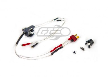 Modify Low Resistance AEG Switch & Wire Assembly for M4 / M16 ( Front / Ultra Plug )