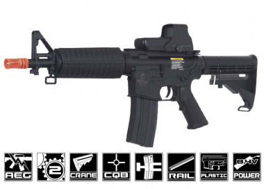 Lancer Tactical M4 CQB AEG Airsoft Gun (Under 350 FPS)
