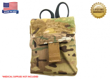 Blue Force Gear Trauma Kit NOW! with Helium Whisper Attachement System ( Multicam )