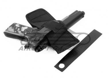 BLACKHAWK Compact Belt Side Holster ( Black / Large )