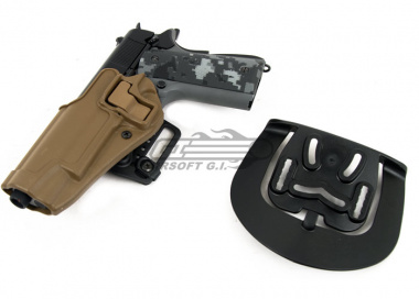 BLACKHAWK SERPA CQC Holster for 1911 / 1911 Rail ( Coyote Tan / Left Handed )