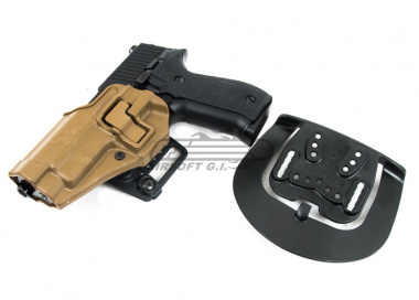 BLACKHAWK SERPA CQC Holster for Sig 220/226 ( Coyote Tan / Left Handed )