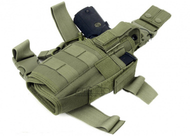 Lancer Tactical Tornado Drop Leg Holster ( OD )
