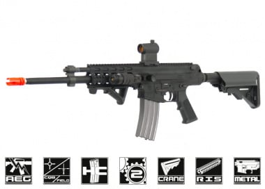 Robinson Armament Full Metal XCR-RDC Airsoft Gun ( BLK )