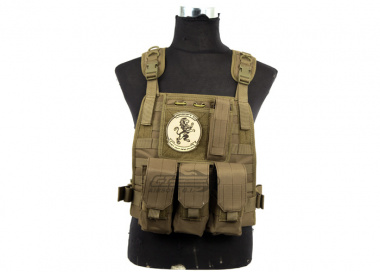 Lancer Tactical Spec Op Molle Plate Carrier ( TAN )