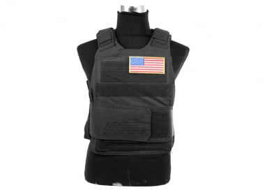 Lancer Tactical Slick Armor Carrier ( BLK )