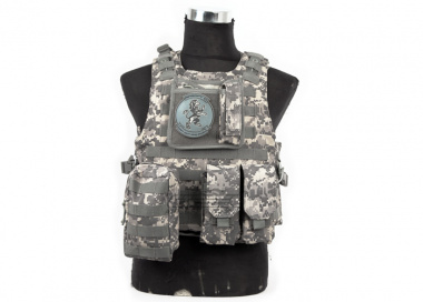 Lancer Tactical Quick Release Armor Carrier ( ACU )