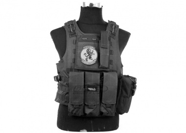 Lancer Tactical Quick Release Armor Carrier ( BLK )