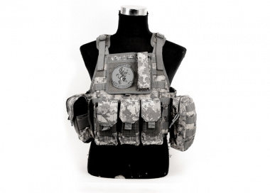 Lancer Tactical Assault Plate Carrier with Cummerbund ( ACU )