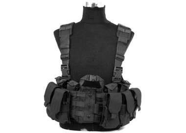 Lancer Tactical M4 Chest Harness ( BLK )
