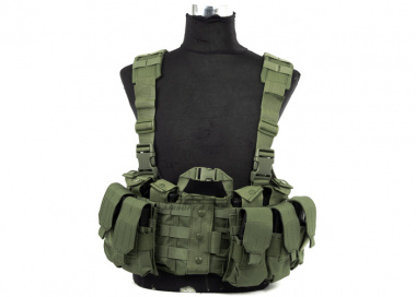 Lancer Tactical M4 Chest Harness ( OD )