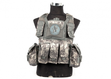 Lancer Tactical Modular Chest Rig ( ACU )