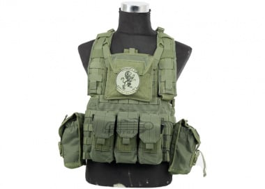 Lancer Tactical Modular Chest Rig ( OD )