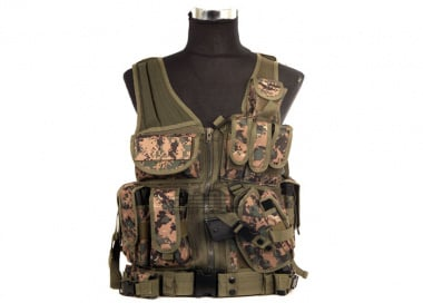 Lancer Tactical Cross Draw Vest ( MARPAT )
