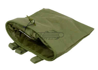 Lancer Tactical Large Foldable Dump Pouch ( OD )