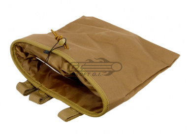 Lancer Tactical Large Foldable Dump Pouch ( TAN )