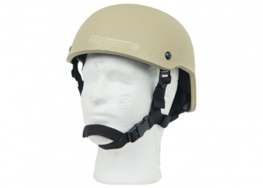 Lancer Tactical MICH 2001 Helmet ( TAN )