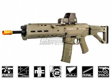 Full Metal PTS Masada ACR SV AEG Airsoft Gun ( Streamlined Version / Dark Earth )