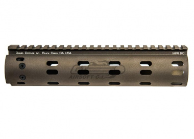 "Madbull Daniel Defense MFR 9"" RIS for M4 / M16 ( Flat Dark Earth )"