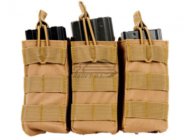NC Star AR Triple Mag Pouch ( Tan )