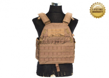 Pantac USA 1000D Cordura LT6094 Low Profile Plate Carrier ( Coyote / Medium )