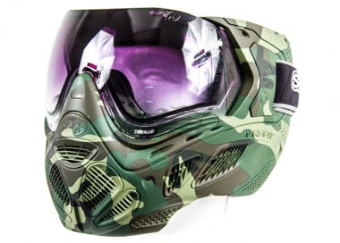 Sly Profit Full Camo Face Mask ( Woodland )