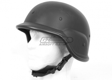 Tactical Crusader M9 Style Helmet ( Black )