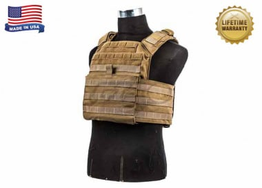 Shellback Tactical Banshee Rifle Plate Carrier ( Coyote Tan )