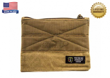 Tactical Assault Gear Kangaroo Zipper Pouch for Banshee ( Coyote Tan )