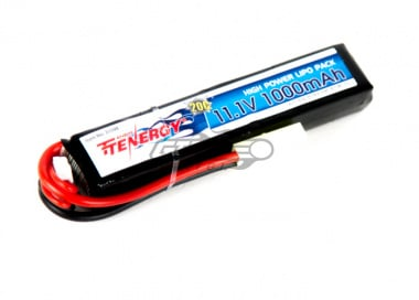 Tenergy LiPo 11.1V 1000mAh 20C Stick ( Battery )