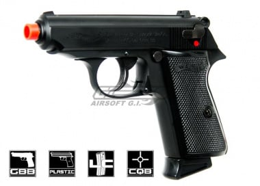 * Discontinued * Elite Force Walther PPK/S Gas Airsoft Gun by Maruzen