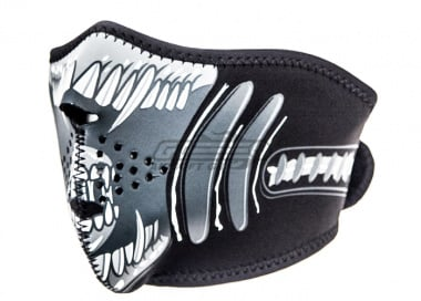 Zan Neoprene Half Face Mask ( Alien )