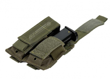 Condor Outdoor MOLLE Dual Pistol Magazine Pouch ( OD )