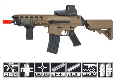 Robinson Armament Polymer XCR-C Airsoft Gun ( Tan / Short)