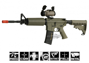 ARES Full Metal M4A1 AEG Airsoft Gun ( Dark Earth )