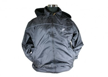 Airsoft GI Black Fleece Patrol Jacket ( Small )