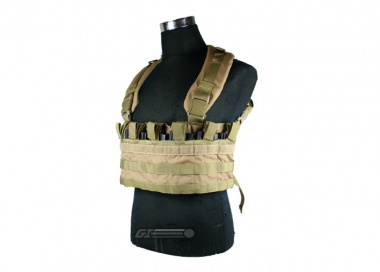 (Discontinued) HSS Modular Chest Rig ( Tan / Tactical Vest  )