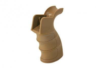 King Arms G27 Grooved Grip for M4 / M16 ( TAN )