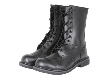 "(Discontinued) Condor / OE TECH All Leather 10"" Paratrooper Boots ( Size 9 / Black )"