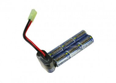 Intellect 9.6v 1600mAh NiMH Custom E90 Battery