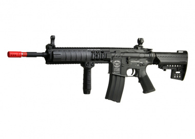 King Arms Full Metal M4 SPC AEG Airsoft Gun