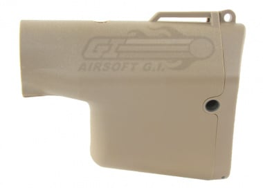 Madbull Airsoft Troy Battle Ax Stock ( Tan )