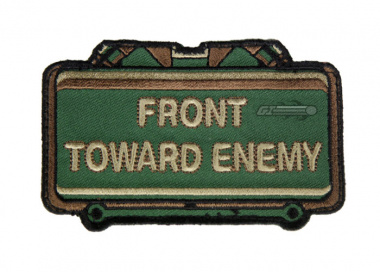 MM Front Toward Enemy Velcro Patch ( Forest )
